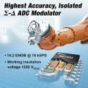 Analog Devices представила модулятор AD7403 (рис.1)
